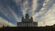 Timelapse of Tuomiokirkko cathedral. video