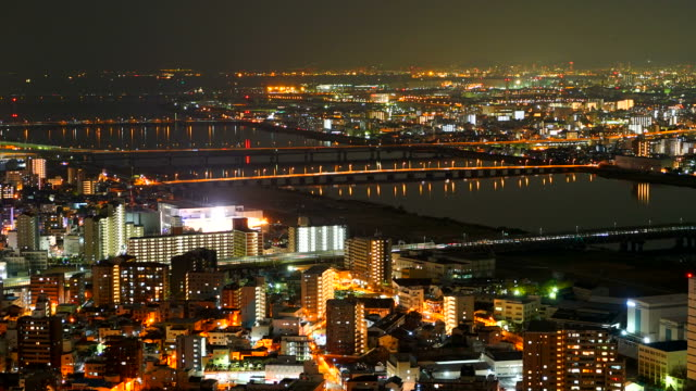 Timelapse : Osaka city video