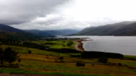 Timelapse over Ullapool in Scotland video