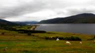 Timelapse overlooking Ullapool, Scotland video