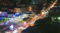 HD Time-lapse - Pattaya city video