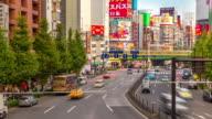 Time-lapse: Pedestrians crowded at Shinjuku Tokyo video