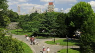 Timelapse - People in Central Park NYC video