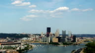 Timelapse Pittsburgh Skyline video