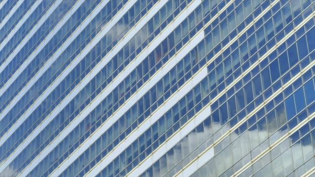 HD Timelapse reflect glass window video