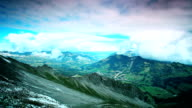 timelapse rothorn kulm and lake brienz video