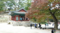 time-lapse Secret Garden in Changdeokgung Palace,Seoul video