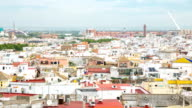 HD Timelapse: Seville Cityscape Spain video