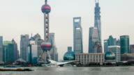Timelapse - Shanghai skyline video