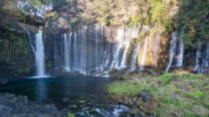 4K Time-lapse : Shiraito Waterfall video