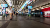 Time-lapse: Siam sky train metro station video