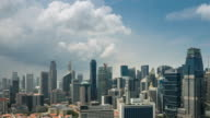 4K Time-lapse: Singapore City Scenery video