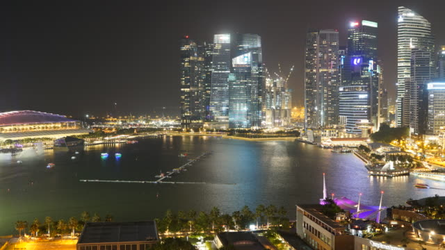 HD Timelapse - Singapore city video