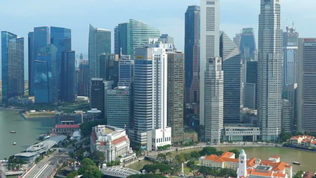 Time-lapse Singapore city video
