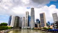 HD Time-lapse: Singapore Cityscape video
