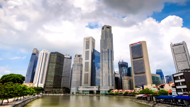 HD Time-lapse: Singapore Cityscape video