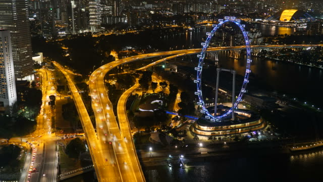 HD Timelapse - Singapore flyer video