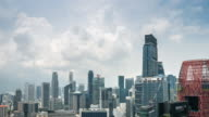 4K Time-lapse: Singapore's Central Business District timelapse video