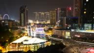 HD Timelapse - Singpore city video