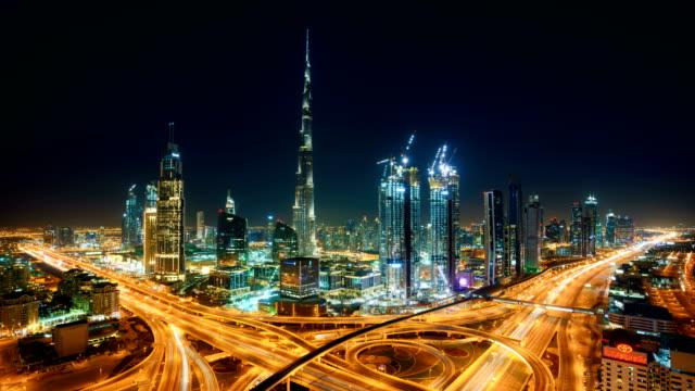 DUBAI Timelapse Skyline video