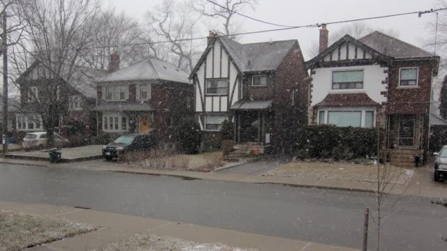 Timelapse snowstorm. video