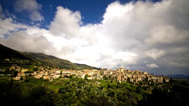 Timelapse: storm clouds in Provence, France (Les Tourettes) video