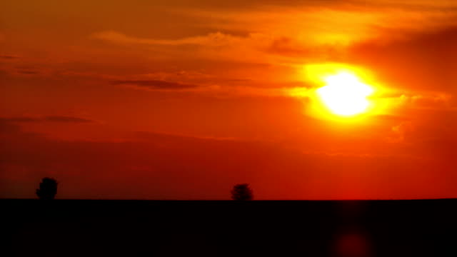 Timelapse sunrise in FullHD video
