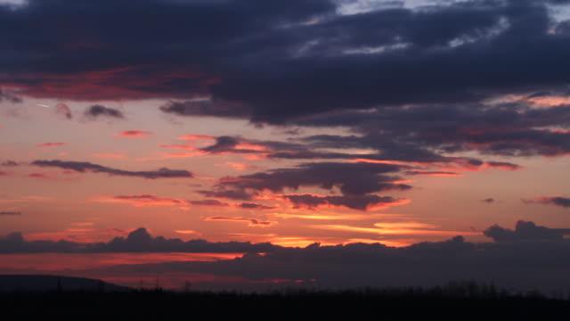 Timelapse Sunset video