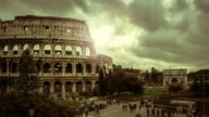 Timelapse: the Colosseum of Rome at Christmas video
