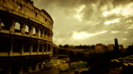 Timelapse: the Colosseum of Rome HD Video video