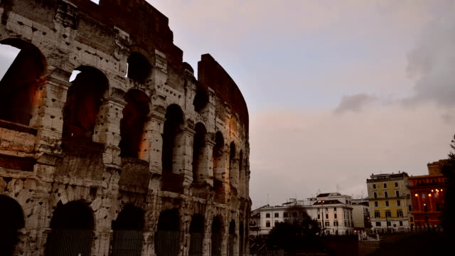 Timelapse: the Colosseum of Rome video