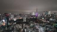 Timelapse : Tokyo city in Japan video