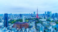 Timelapse : Tokyo city in Japan video