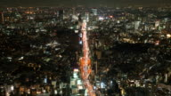 HD Timelapse Tokyo City,Japan video