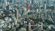 HD timelapse Tokyo Tower in Tokyo City video