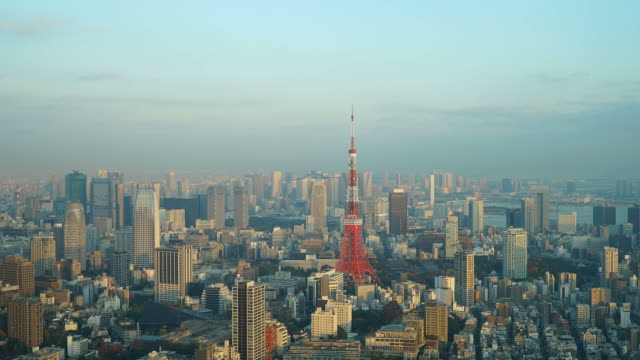 timelapse Tokyo Tower in Tokyo City video