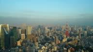 HD timelapse Tokyo Tower in Tokyo City,Japan video