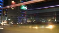 timelapse - traffic at Dongdaemun ,Seoul City video