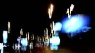 Timelapse Traffic at Night video