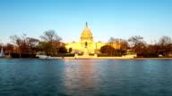 HD Time-lapse: US Capitol Building, Washington DC, USA video