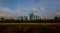 Timelapse Video of Singapore central business district video