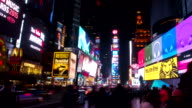Timelapse video of Times Square in Manhattan video