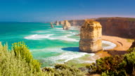 Timelapse video of Twelve Apostles in Australia video