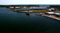 Timelapse view from the Bicentennial Tower in Erie, PA video