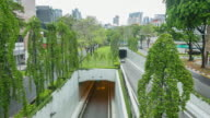 4K Time-lapse: view of street at Clark Quay, Singapole video