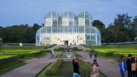 Timelapse View of the Botanical Gardens in Curitiba, Brazil video