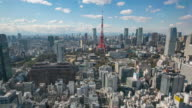 4K Timelapse view of Tokyo city video