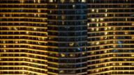 4K Time-lapse window pattern of building video