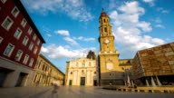 HD: time-lapse: Zaragoza Cathedral, Spain video