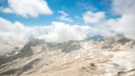4K Time-lapse: Zugspitze Alpine Alps mountain Landscape top of Germany video